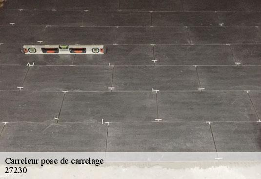Carreleur pose de carrelage  27230